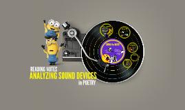 Analyzing Sound Devices