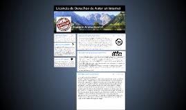 Licencia de Derechos de Autor en internet