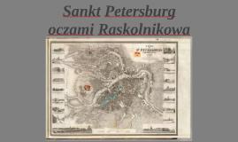 Raskolnikov's journey through Sankt Petersburg