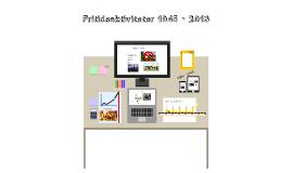 Fritidsaktiviteter 1945 - 2013