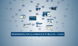 ALUMBRADOS HUILA