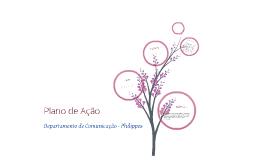 Plano de Ação 2013 - Dep. Comunicação Philippos