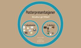 Posterpresentasjoner