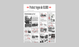 Copy of Het protest tegen de 10 000