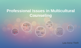 Copy of Professional Issues in Multicultural Counseling