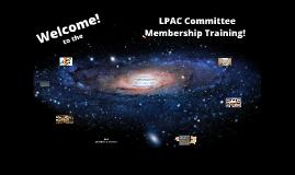 18-19 LPAC Committee Membership Training