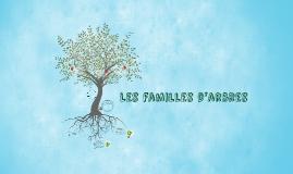 Les familles d'arbres