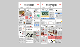 Writing Centers