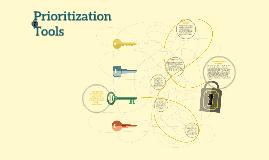 Copy of Prioritization Tools