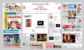 Stereotypes in the Media: Girls