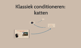 Klassiek conditioneren