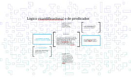 Lógica cuantificacional o de predicados