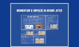 Momentum & impulse in grand jetes
