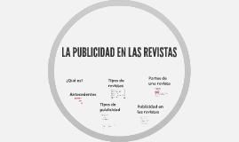 LA PUBLICIDAD EN LAS REVISTAS