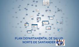 PLAN DEPARTAMENTAL DE SALUD NORTE DE SANTANDER