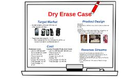Dry Erase Case