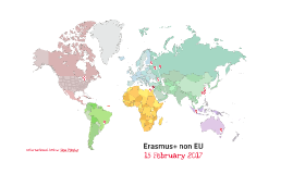 Erasmus+ outside Europe