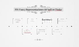 ED: Usos y Representaciones del Self en Tinder