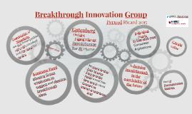 Breakthrough Innovation Group Pernod Ricard