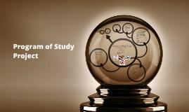 Program of Study Project