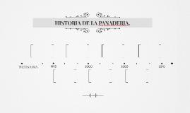 HISTORIA DE LA PANADERIA.