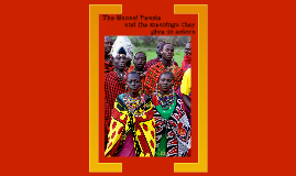 Copy of The Massai Tribe of Kenya: Colors and Their Meanings