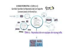 UF0514 Tema 1. Reproducción en equipos de reprografía