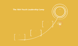 The 10th Youth Leadership Camp