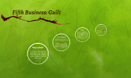Fifth Business: Guilt