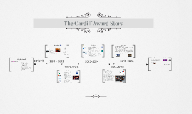 The Cardiff Award: our story