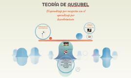 TEORÍA DE AUZUBEL