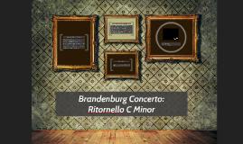 Brandenburg Concerto: