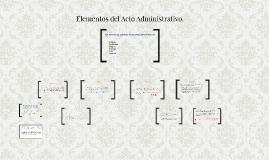 Elementos del Acto Administrativo.