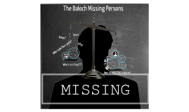 The Baloch Missing Persons