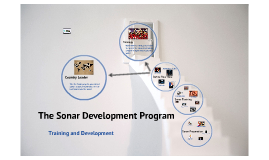 Sonar Development Program
