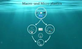 Macro -and Micro plastic