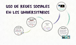 Copy of USO DE REDES SOCIALES EN LOS UNIVERSITARIOS