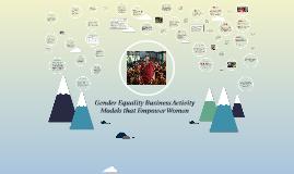 Business Activity Models that Empower Women