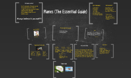 Planes (The Essential Guide)