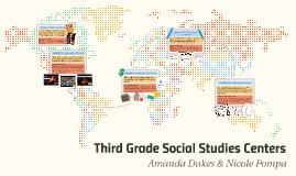 Social Studies Centers