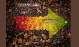 Copy of I CLIMI DEL MONDO