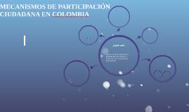MECANISMOS DE PARTICIPACIÓN CIU