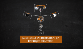 Auditoria Informatica : Auditoria de la Explotacion