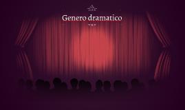 Genero dramatico