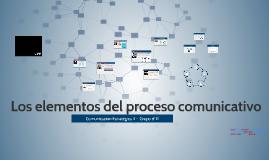 Elementos del proceso comunicativo - Grupo 11