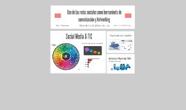 Uso de las redes sociales como herramienta de comunicación y