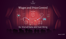 Wages and Price Control