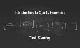 Introduction to Sports Economics