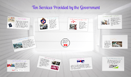 Ten Services Provided by the Government