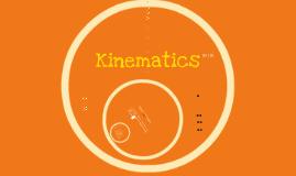 1D Kinematics